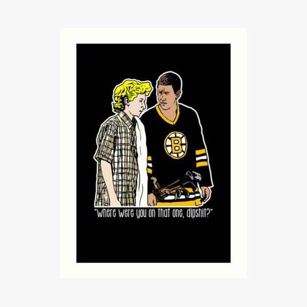 "Happy Gilmore - ""Where were you"" Art Print"