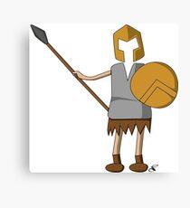 Sparta guy 2 Canvas Print