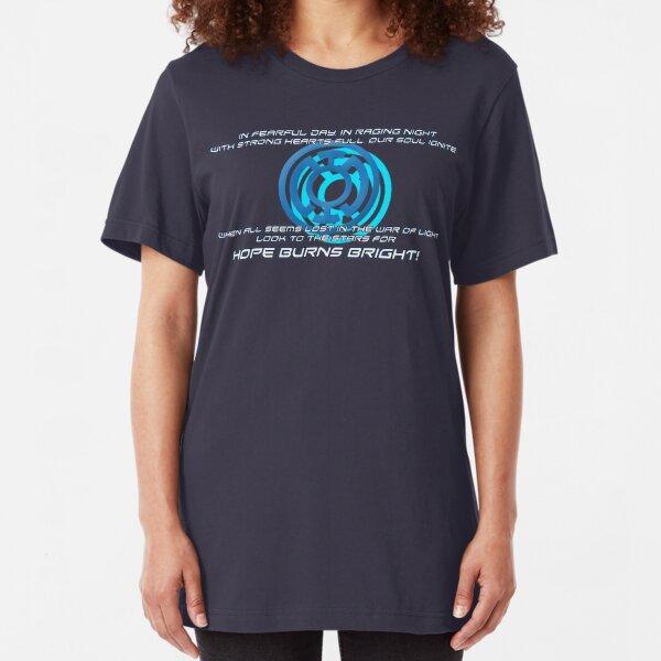 Blue Lantern's light Slim Fit T-Shirt