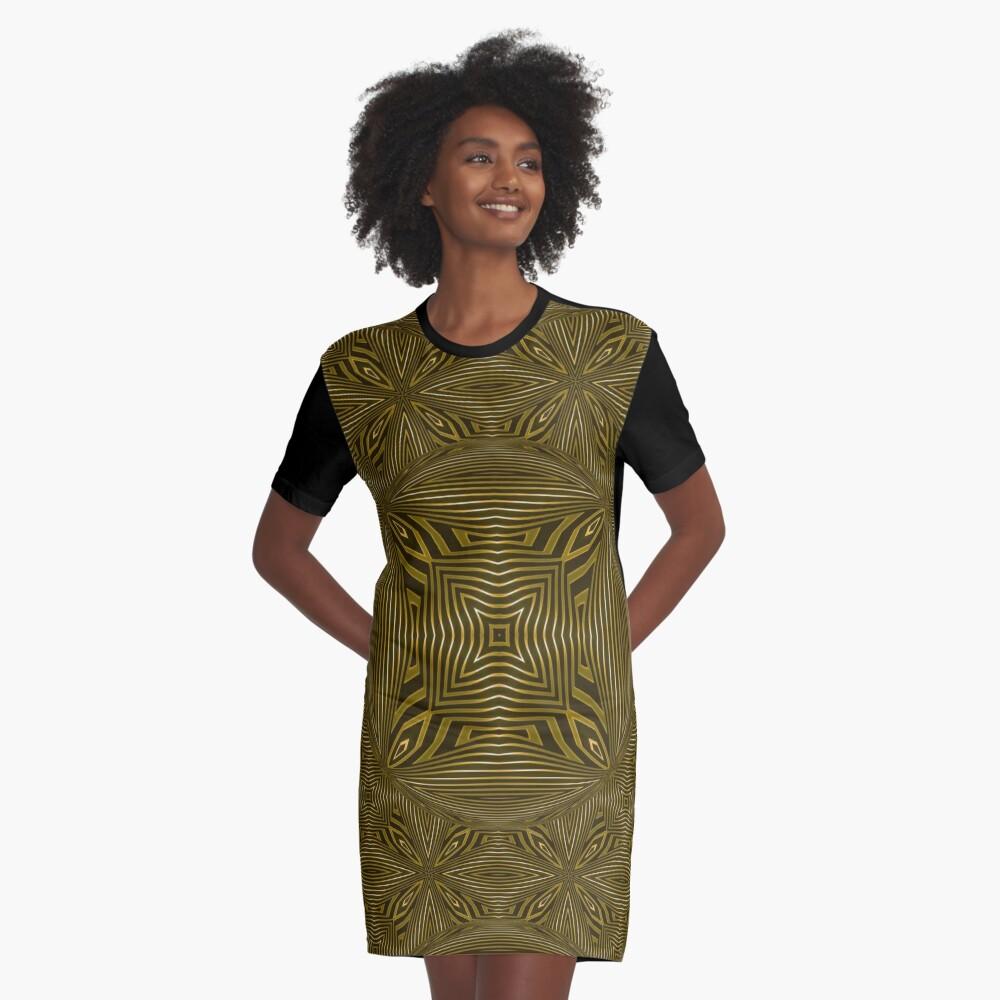 Copperworks Lattice (2) Graphic T-Shirt Dress