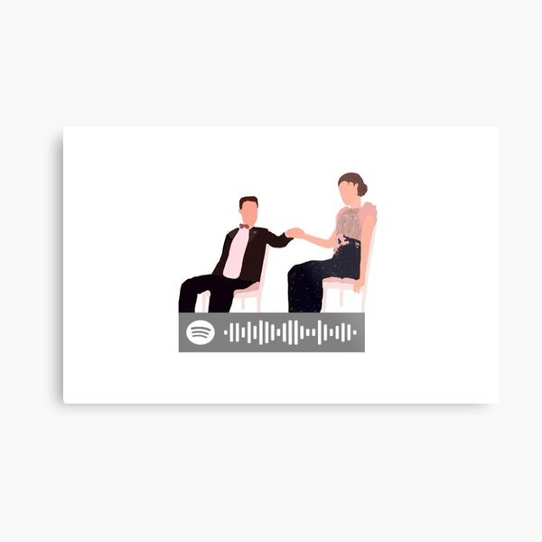 blair and chuck: rolling in the deep Metal Print