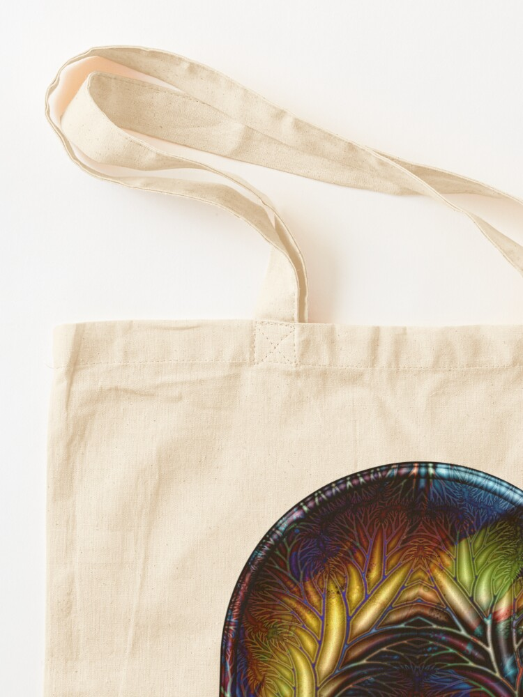 Alternate view of Fractal Branches Tote Bag