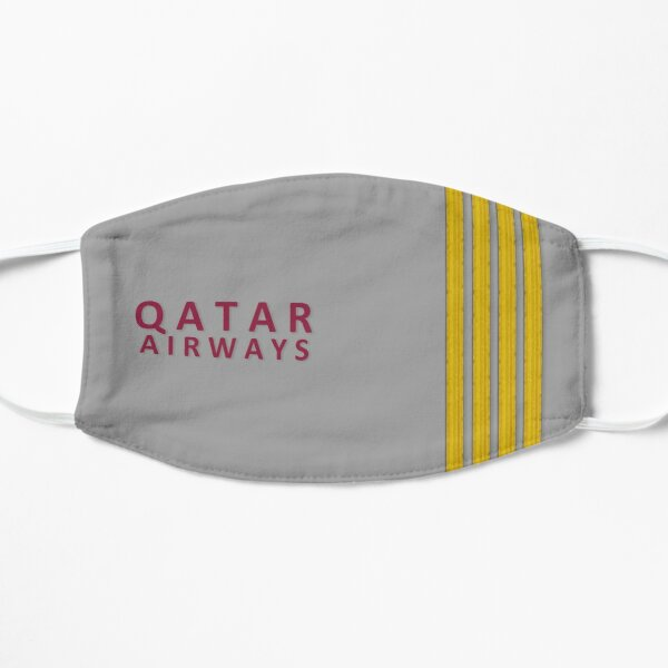 Qatar Airways Epaulettes Mask