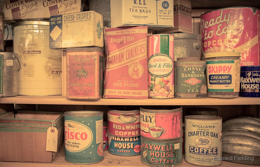 Vintage Food Pantry by Edward Fielding