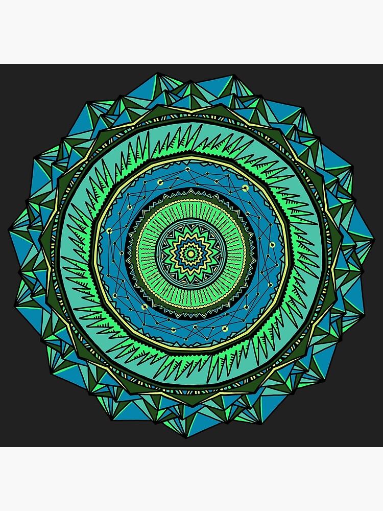 Energy Core Mandala by akayeart