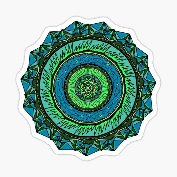 Energy Core Mandala Sticker