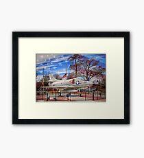 Retired Military Fighter Jet Framed Print