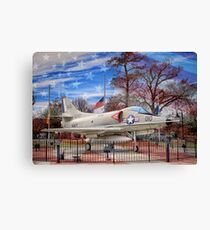 Retired Military Fighter Jet Canvas Print