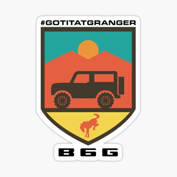Got It At Granger: B6G logo Sticker