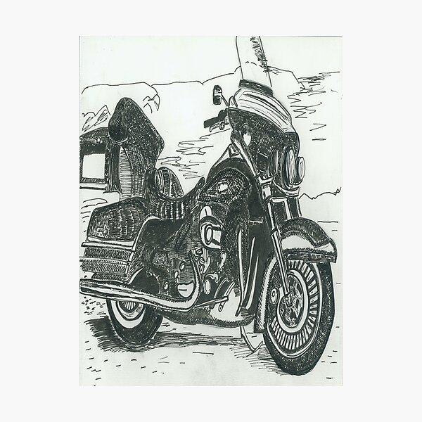Motorcycle Photographic Print