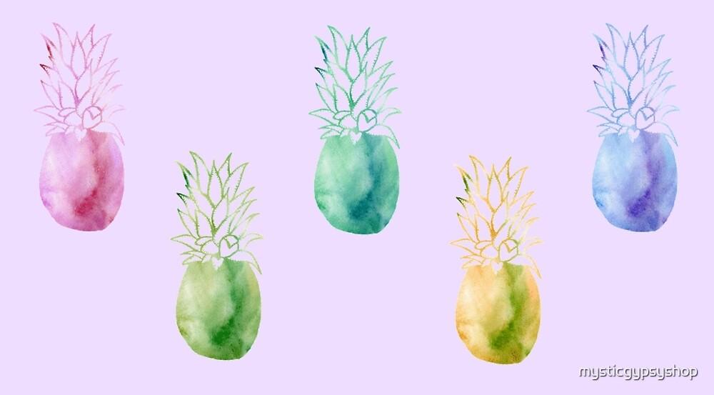 Pineapple by mysticgypsyshop