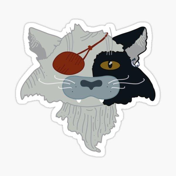 The Last Unicorn - Cat Sticker