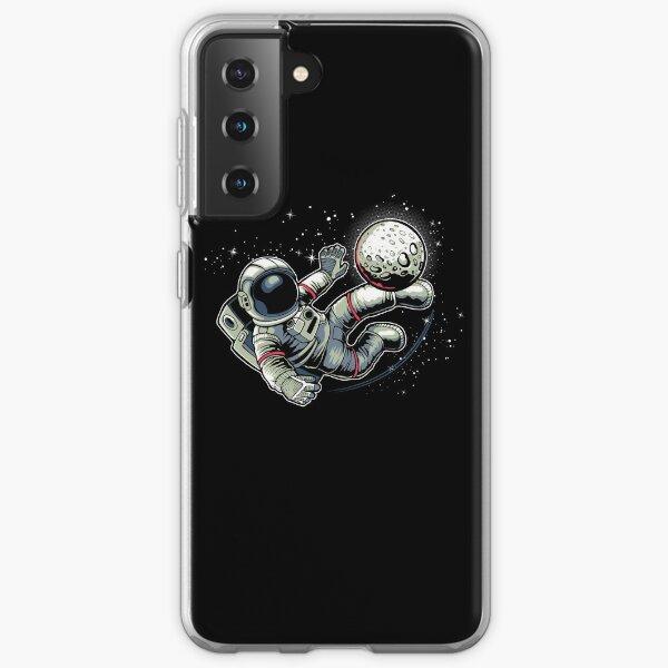 Soccer Astronaut Samsung Galaxy Soft Case