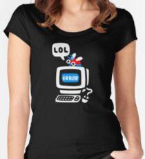 Bug d'ordinateur T-shirt échancré
