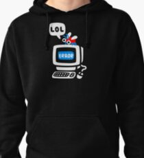 Computer Bug Pullover Hoodie
