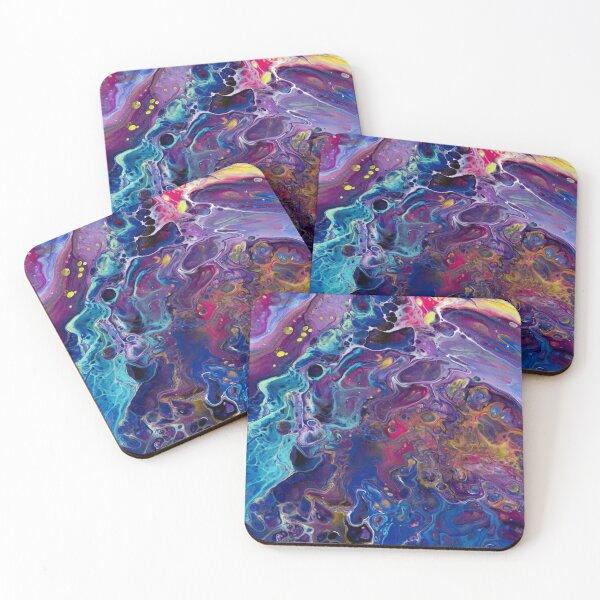 Unicorn Poop Coasters (Set of 4)