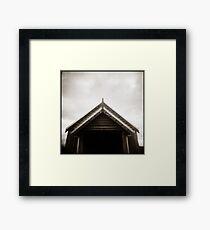 { upside } Framed Print