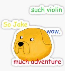 Jake the Doge *Comic Sans Edition* Sticker
