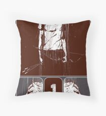 and he rode out as a conqueror bent on conquest Throw Pillow