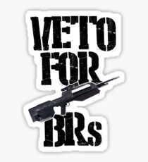 Halo 3 Veto For BRs Sticker