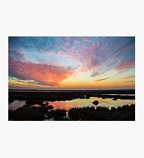 Pink Sky at Night . .   Photographic Print