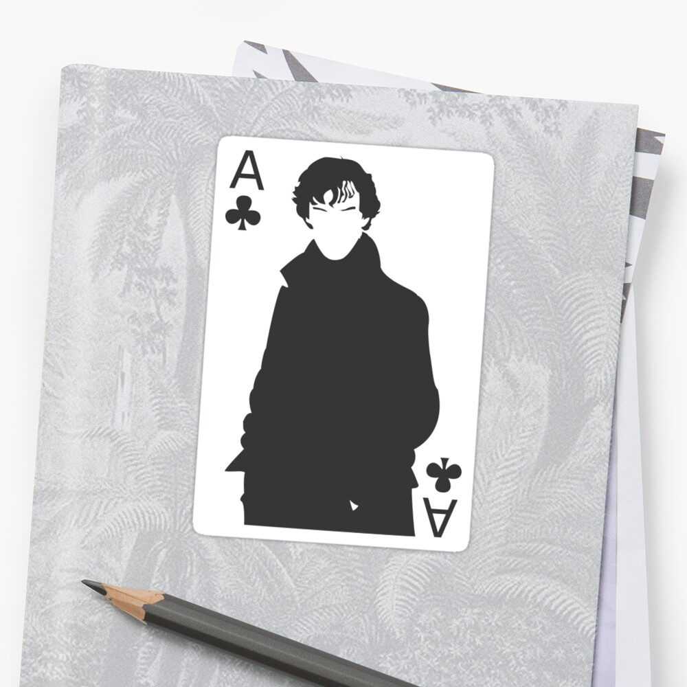 Sherlock - Ace of Clubs by Pugglemuggle