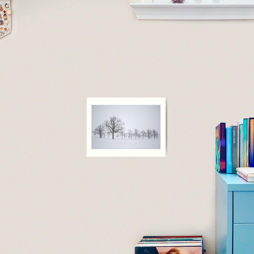 Sentinels Art Print