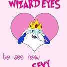 Valentines - Wizard Eyes by Rebecca Adams