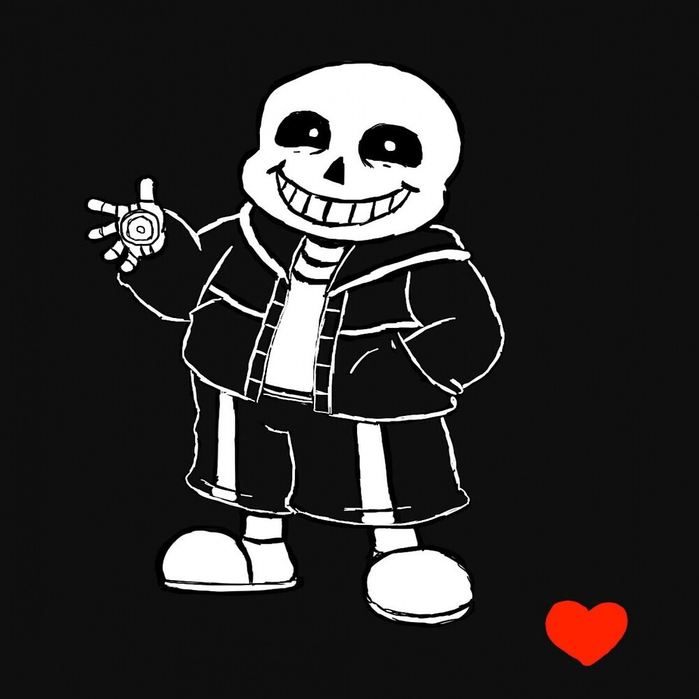 Sans from Undertale clothing, cups, and more! by ShawnEz :)