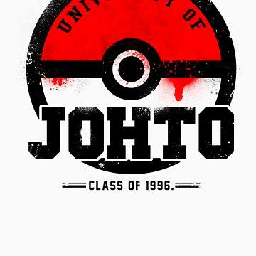 Pokemon - University of Johto (Grunge) by chadzero