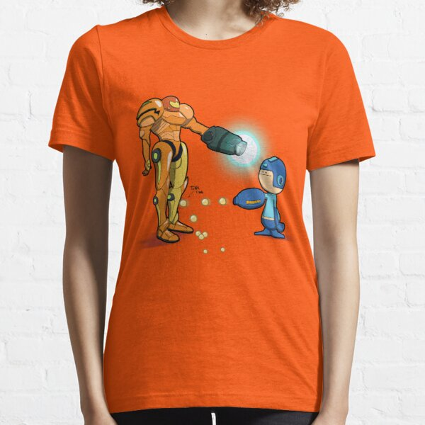 Samus Vs Mega Essential T-Shirt