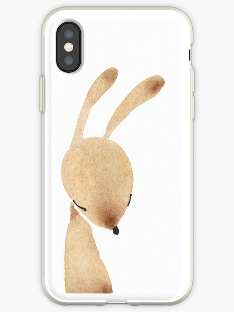 Shy bunny by jjsgarden