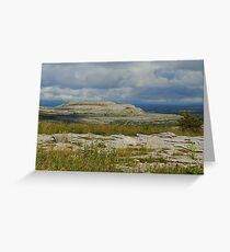 The Burren Countryside County Clare Ireland Greeting Card