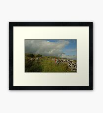 Gateway to The Burren County Clare Ireland Framed Print