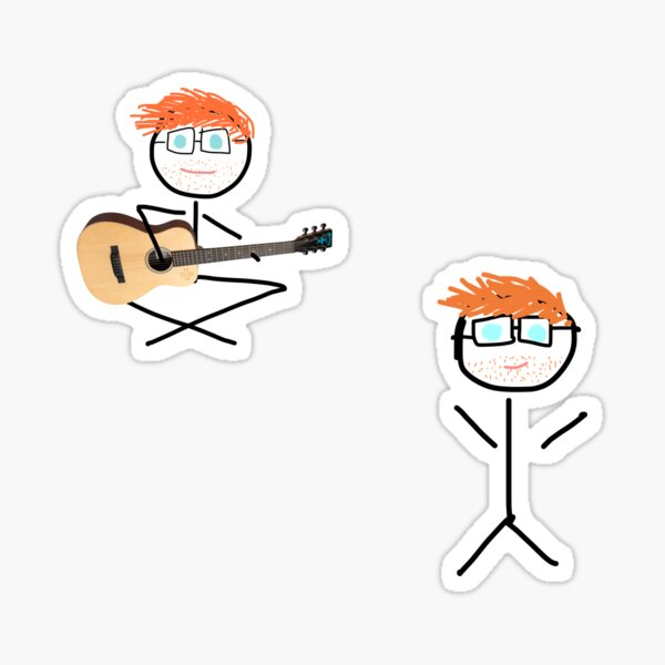 Ed Stickman Sticker