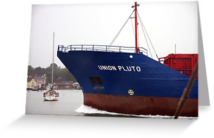 Making Waves ~ Union Pluto Outward Bound by Innpictime