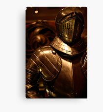 Armour in Glasgow Canvas Print