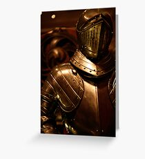 Armour in Glasgow Greeting Card