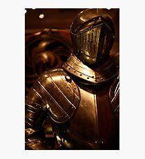 Armour in Glasgow Photographic Print