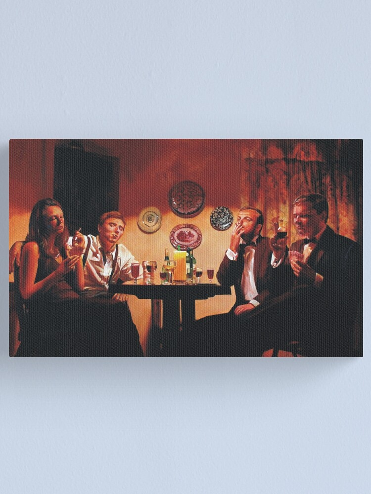 Alternate view of A Good Hand Canvas Print