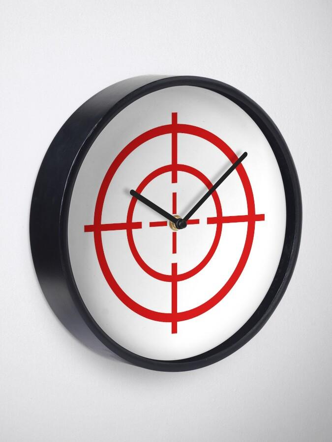 Alternate view of Target Practice Crosshair Clock
