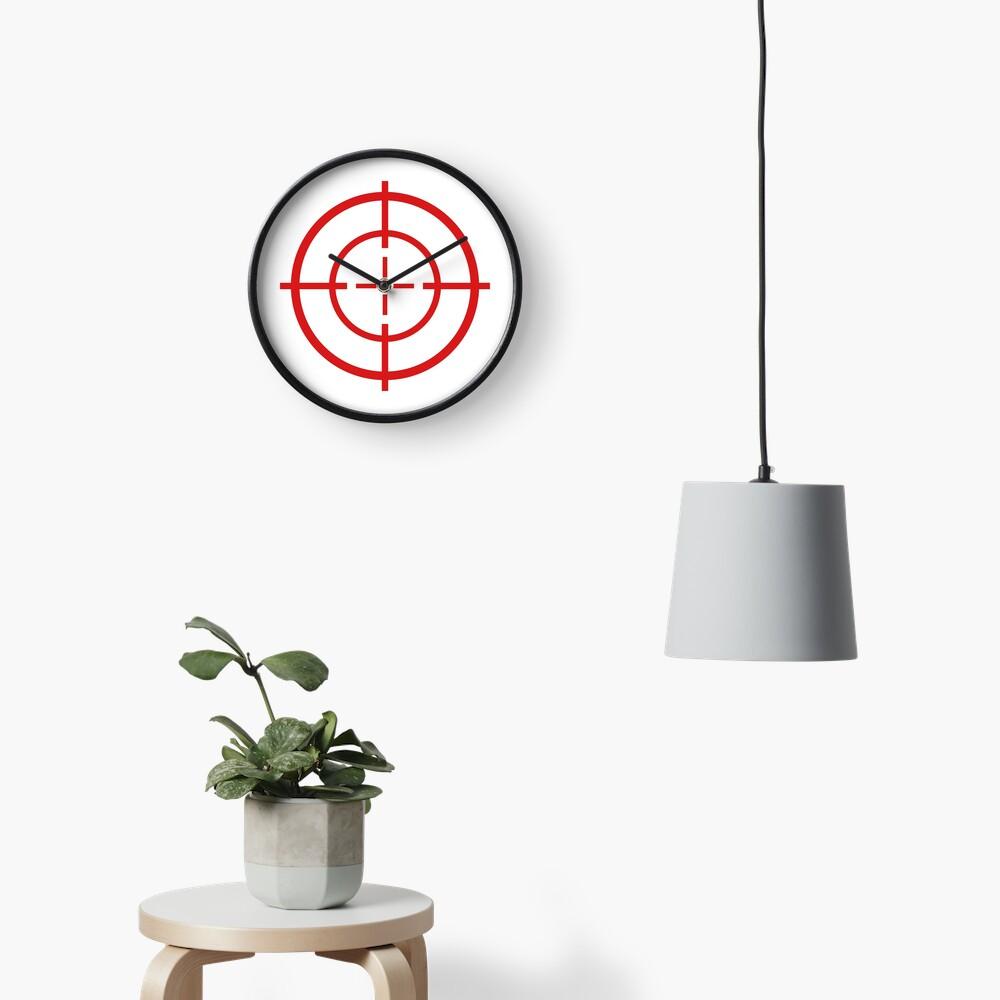 Target Practice Crosshair Clock