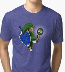 A Link Too the Past Tri-blend T-Shirt
