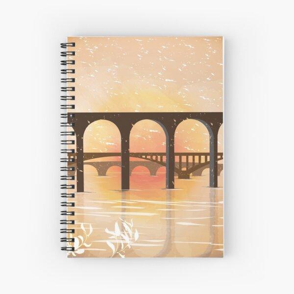 Three Bridges of Berwick upon Tweed Spiral Notebook