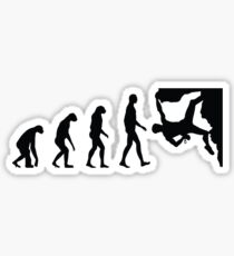 Evolution Climbing Sticker