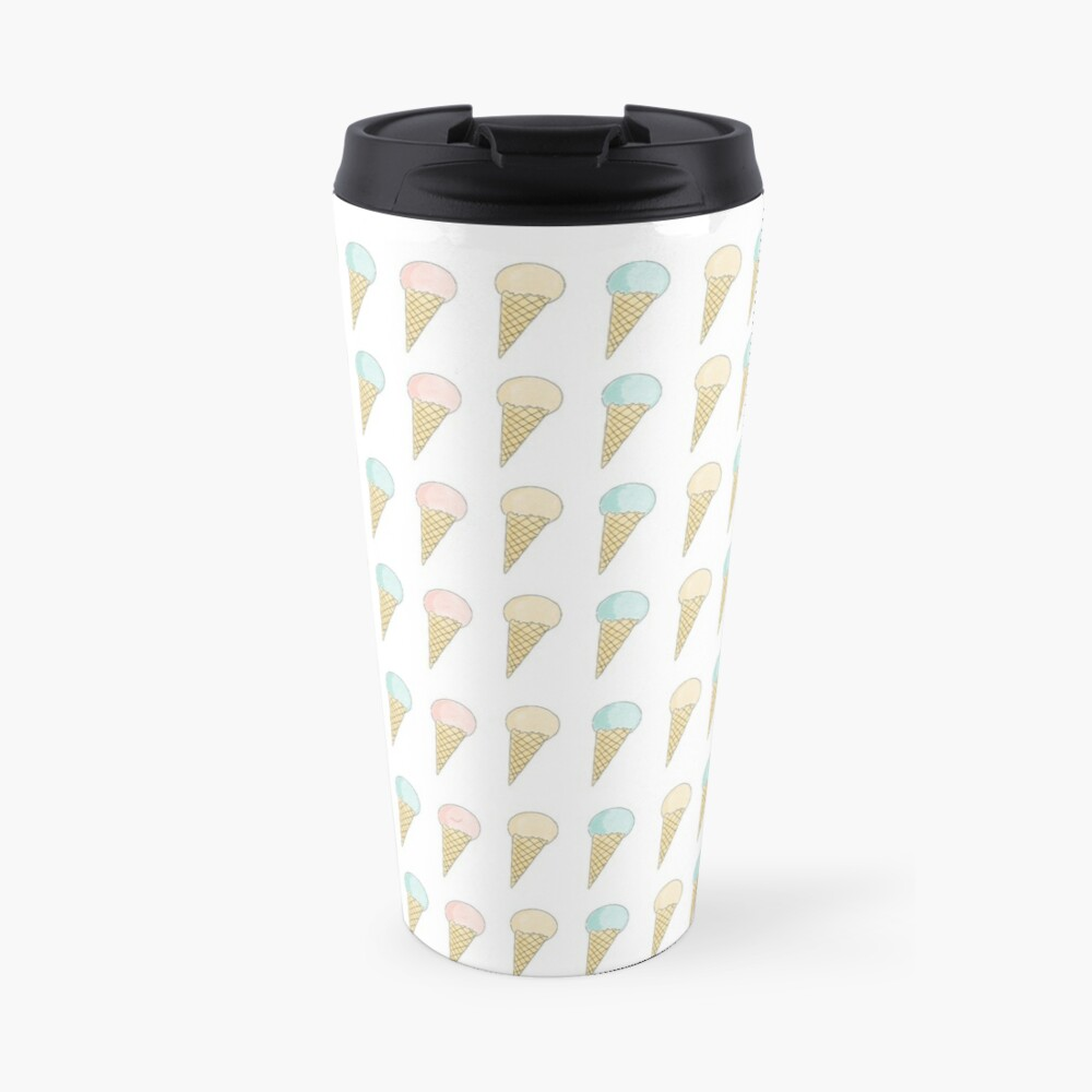 Ice Cream Trio Travel Mug
