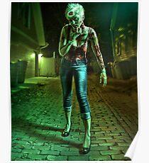 Zombie Babe I Poster