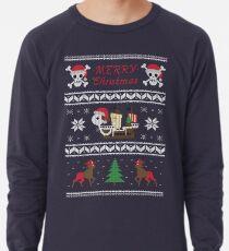 Fröhlich Weihnachten Leichter Pullover