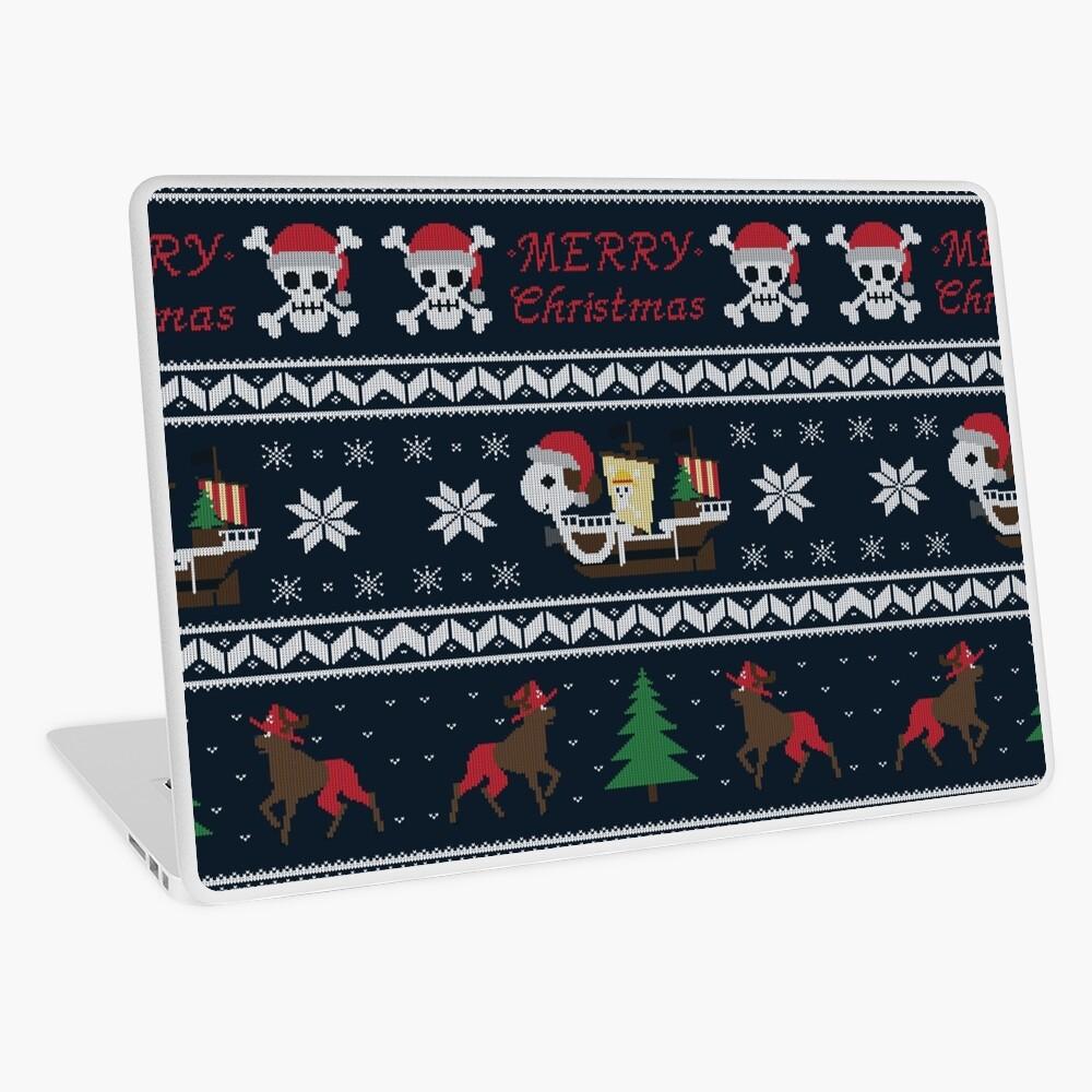 Fröhlich Weihnachten Laptop Folie