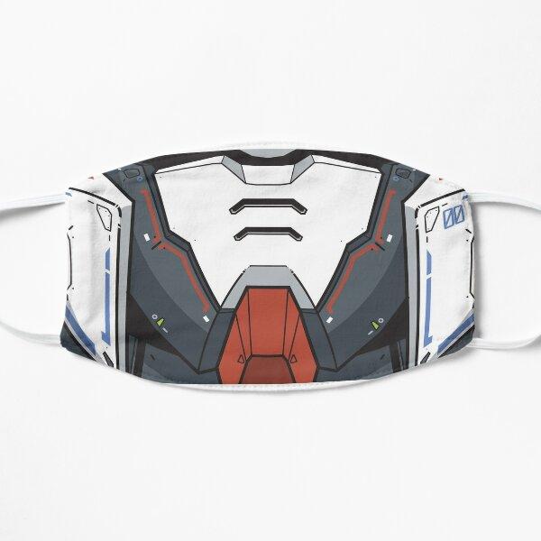 Gundam 00 Rasier Mask Flat Mask